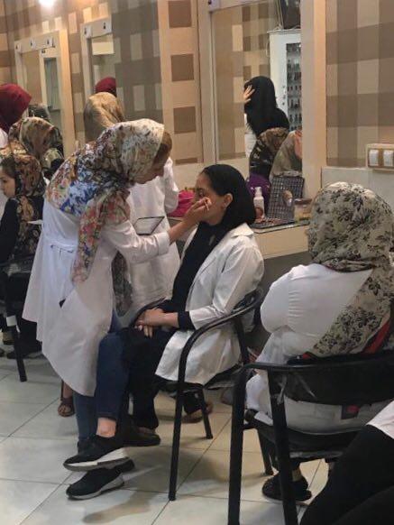 آموزشگاه آرایشگری زنانه در شهریار
