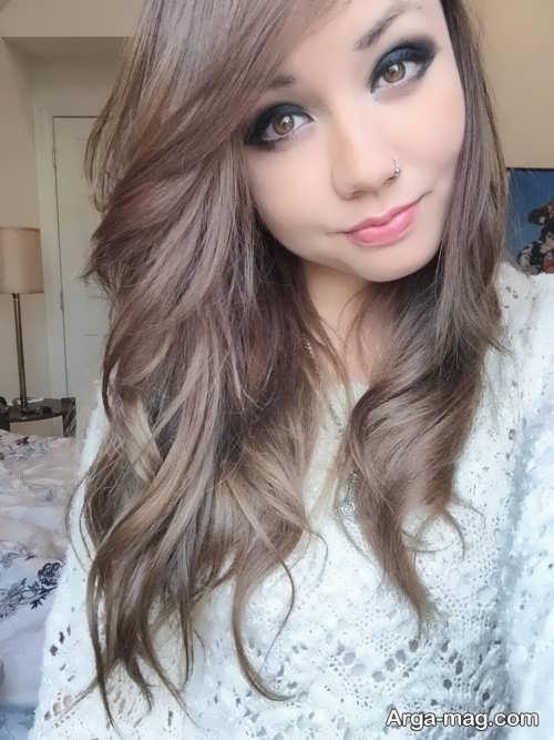 رنگ مو دودودی طلایی