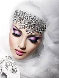 آرایش مخصوص صورت عروس